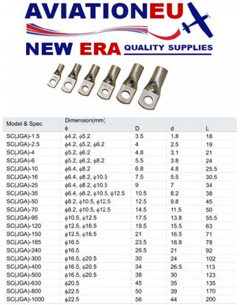 AVEUNE SC JGA Battery Terminals Specs