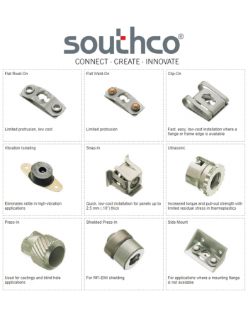 SOUTHCO DZUS Receptacles