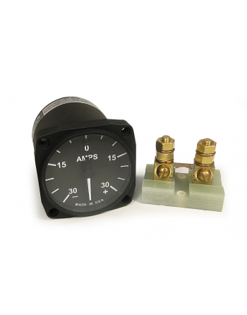 "UMA 2-1/4"" Series Electric Amp Meter Gauge (Ammeter), 270° Sweep"