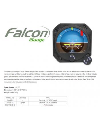 FALCON Electric Attitude Indicator