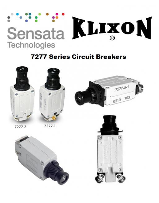 KLIXON 7277 Series Thermal Circuit Breakers