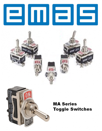 EMAS MA Series Toggle Switches