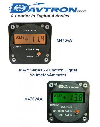 DAVTRON M475 Voltmeter-Ammeter