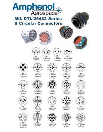AMPHENOL MIL-DTL-26482 Series II Circular Connectors