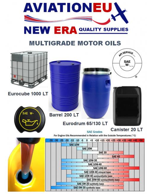 AVIATIONEU NEW ERA Multigrade Motor Oils