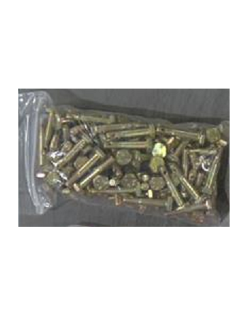 AN/NASM 3 Steel Hex Head Machine Bolt Package