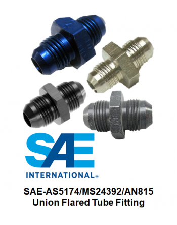 SAE-AS5174/MS24392/AN815 Union Fitting