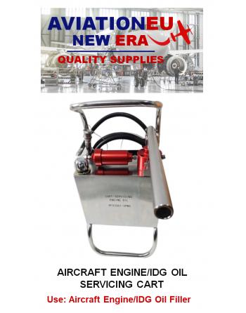 AVIATION NEW ERA Aircraft Engine Oil/IDG Service Cart