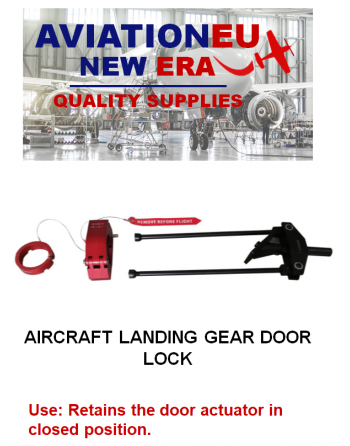 AVIATIONEU NEW ERA Aircraft LDG Door Lock