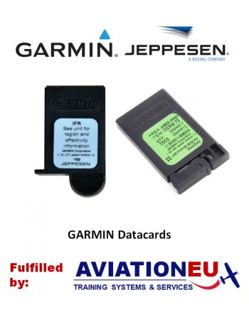 JEPPESEN GARMIN Datacards