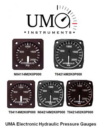 UMA Electronic Hydraulic Pressure Gauges