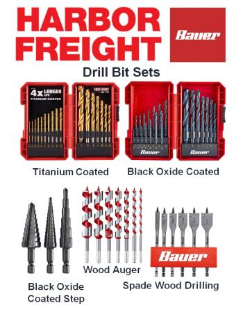 BAUER Drill Bit Set