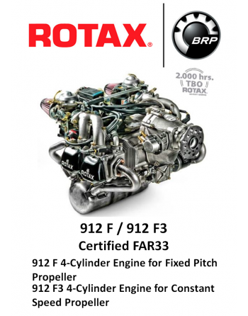 ROTAX 912 F Aircraft Engine