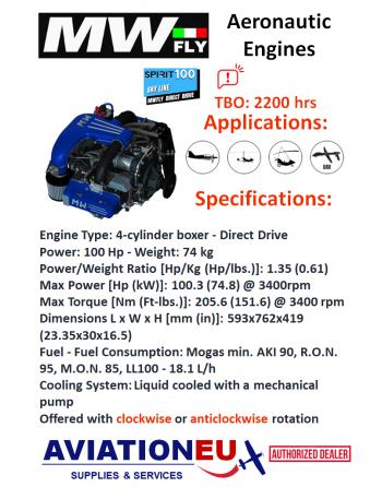 MWFly SPIRIT SKY LINE100 Engine