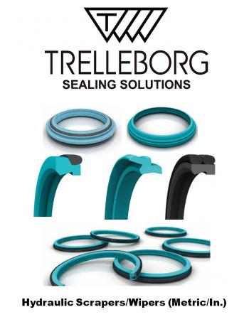 TRELLEBORG Hydraulic Scrapers/Wipers
