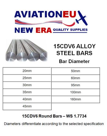 AVIATIONEU NEW ERA 15CDV6 Alloy Steel Bars
