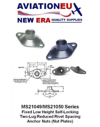 AVIATIONEU NEW ERA MS21049-MS21050 Series Nutplates