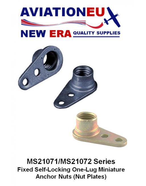 AVIATIONEU NEW ERA MS21071-MS21072 Series Nutplates