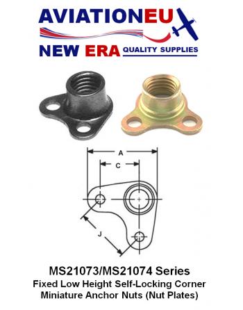 AVIATIONEU NEW ERAMS21073/MS21074 Series Nut Plate