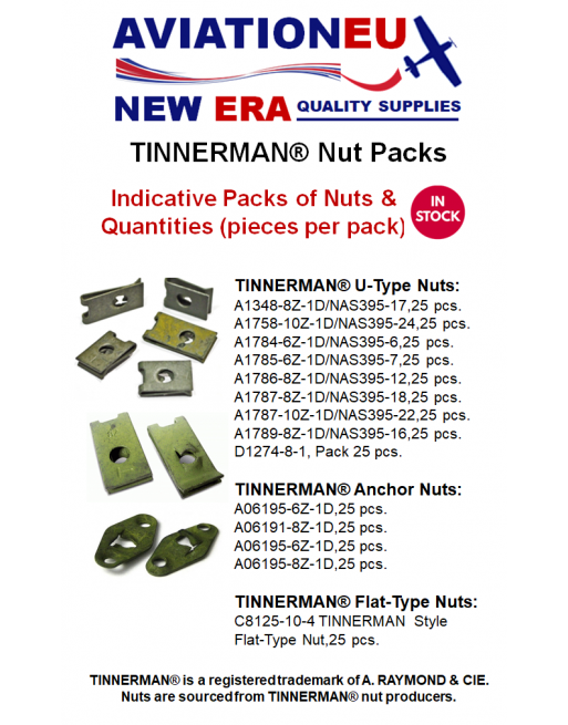 AVIATIONEU NEW ERA TINNERMAN Nut Packs