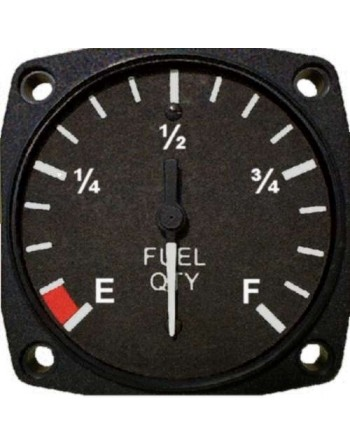 UMA 2-1_4 Inc Electric Fuel Quantity Gauge