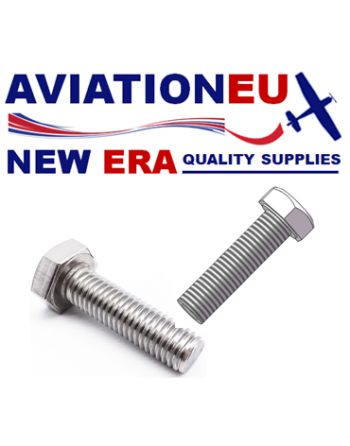 AVIATIONEU NEW ERA DIN933 Stainless Steel 304/316 Hexagon Bolt, Fully Threaded