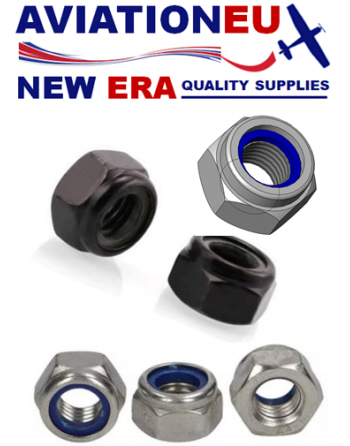 AVEUNE Carbon Steel Self Locking Nut