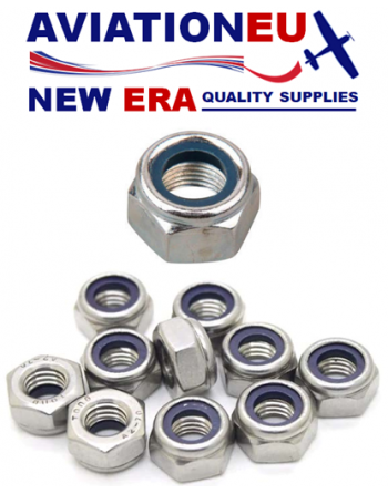 AVEUNE ASTM A194 Hex Self Locking Nut